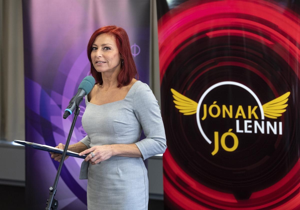 Erős Antónia, az Egy Csepp Figyelem Alapítvány alapítója (Fotó: MT/Szigetváry Zsolt)
